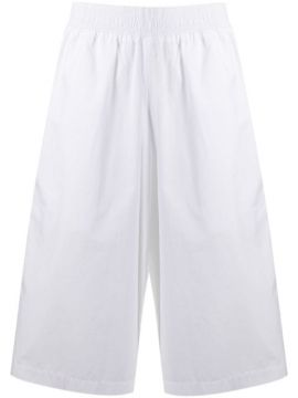 Cropped Wide Leg Trousers - Courrèges