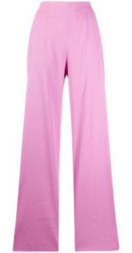 High-rise Wide Leg Trousers - Pinko