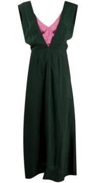 Layered-look Maxi Dress - Colville