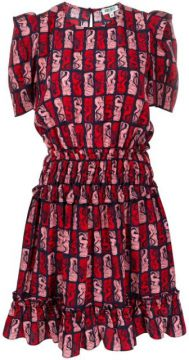 Graphic Mermaid Dress - Kenzo