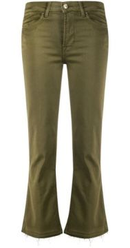Cropped Slight Flared Trousers - 7 For All Mankind