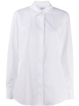 Pointed Collar Relaxed Fit Shirt - Dondup