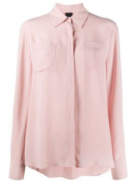 Chest Pocket Blouse - Pinko
