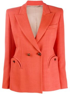 Double-breasted Fitted Blazer - Blazé Milano