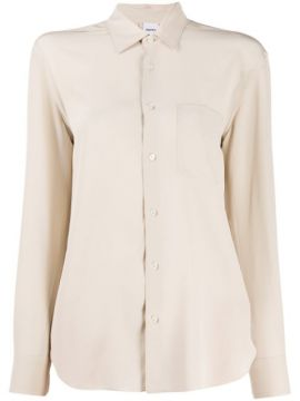 Silk Long Sleeve Blouse - Aspesi