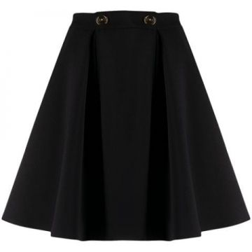 A-line Pleated Skirt - Elisabetta Franchi