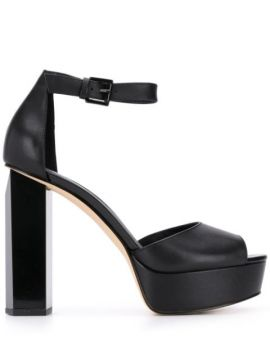 130mm Heel Platform Sandals - Michael Michael Kors