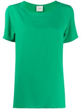Short-sleeved Loose-fit Blouse - Alysi