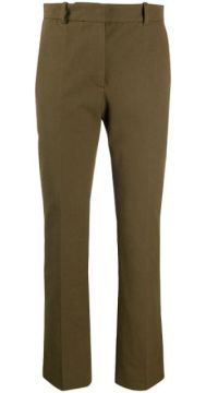 High-rise Cropped Slim-fit Trousers - Joseph