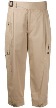Cropped Cargo Trousers - Dolce & Gabbana