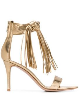 Fringed 85mm Sandals - Gianvito Rossi
