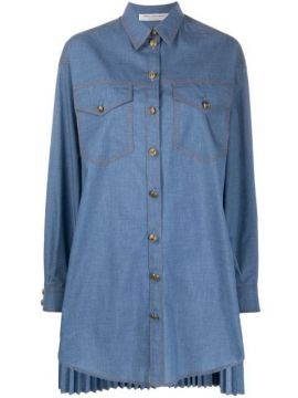 Denim Shirt Dress - Philosophy Di Lorenzo Serafini