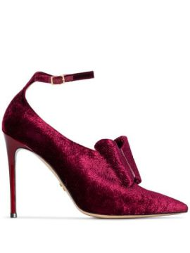 Liya 100mm Bow Detail Pumps - Charles Jourdan