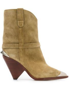 Pointed-toe Ankle Boots - Isabel Marant