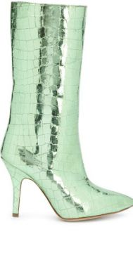 Embossed Pull-on Boots - Paris Texas