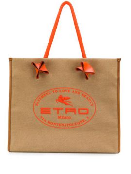 Faithful To Love And Beauty Tote - Etro
