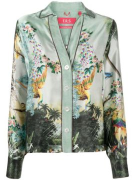 Anaideia Silk Shirt - F.r.s For Restless Sleepers