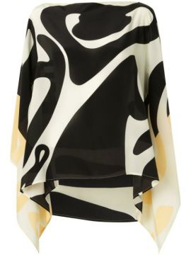 Accardi Abstract-print Top - Emme Parsons