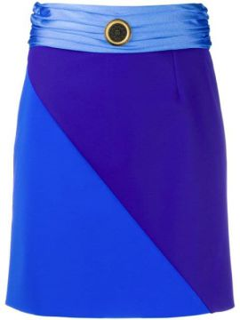 Colour Block Mini Skirt - Fausto Puglisi