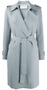 Belted Soft Trenchcoat - Harris Wharf London