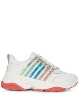 Multi-striped Low-top Chunky Trainers - Dsquared2