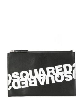 Double Logo Clutch - Dsquared2