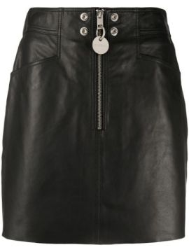 A-line Leather Skirt - Diesel
