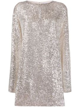 Alexandra Sequined Mini Dress - In The Mood For Love