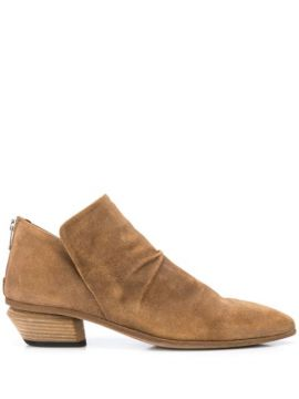 Pointed Toe Ankle Boots - Officine Creative
