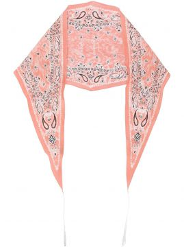 Paisley-print Diamond-shaped Bandana - Acne Studios