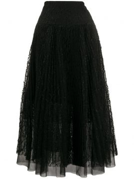 Tule Pleated Skirt - Ermanno Scervino