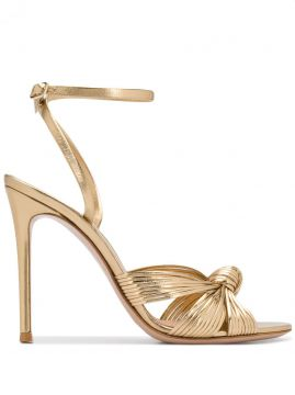 Knot Detailed 105mm Sandals - Gianvito Rossi