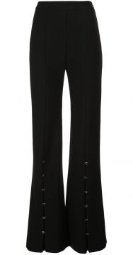 Clasped Flare Trousers - Ellery