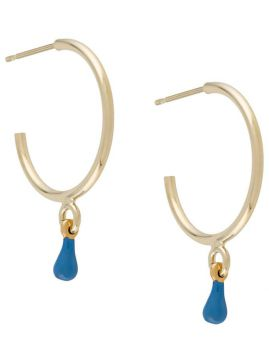 Resin-drop Hoop Earrings - Isabel Marant