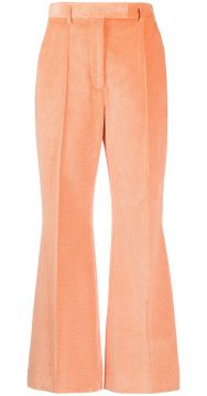 Flared Cropped Trousers - Acne Studios