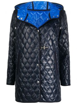 Quilted Button Jacket - Fay
