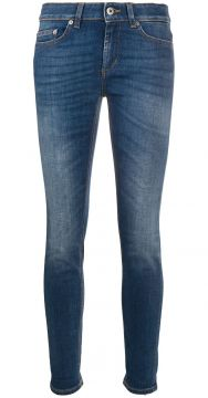 Cropped Skinny Jeans - Dondup