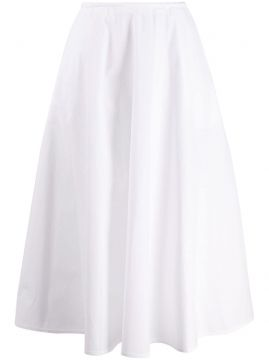 High-waisted Pleated Skirt - Courrèges