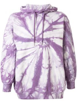 Oversized Tie-dye Hoodie - Ground Zero