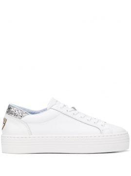 Logomania Low-top Platform Sneakers - Chiara Ferragni