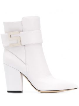 Pointed Ankle Boots - Sergio Rossi
