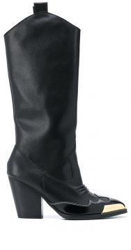 Toe-cap Pull-on Boots - Versace Jeans Couture