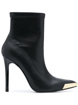 Pull-on Stiletto Ankle Boots - Versace Jeans Couture