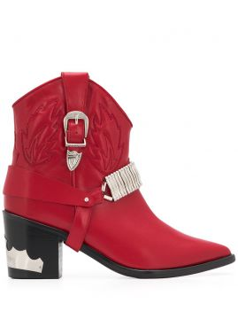 Western Ankle Boots - Toga Pulla