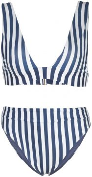 Laurie Penelope Striped Bikini Set - Agua By Agua Bendita