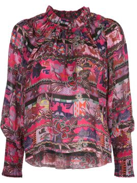 Cusco Floral Patterned Shirt - Chufy