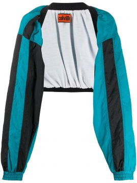 Cropped Open Front Jacket - Colville