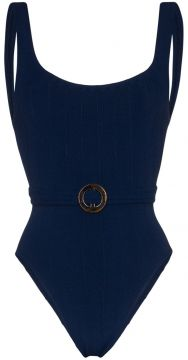 Solitaire Nile Belted Swimsuit - Hunza G