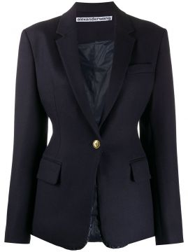 Tailored Single-breasted Blazer - Alexander Wang