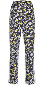 Floral-print Zipped-cuff Trousers - Palm Angels